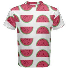 Watermelon Pattern Men s Cotton Tee