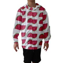 Watermelon Pattern Hooded Wind Breaker (kids)