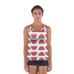 Watermelon Pattern Women s Sport Tank Top