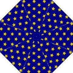 Star Pattern Folding Umbrellas
