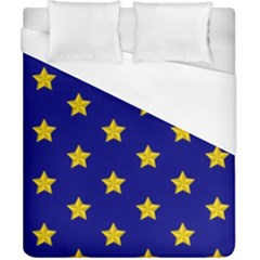 Star Pattern Duvet Cover (california King Size)