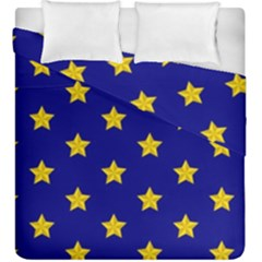 Star Pattern Duvet Cover Double Side (king Size)