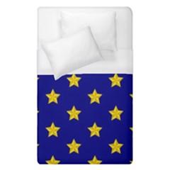 Star Pattern Duvet Cover (single Size)