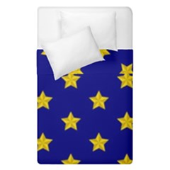 Star Pattern Duvet Cover Double Side (single Size)