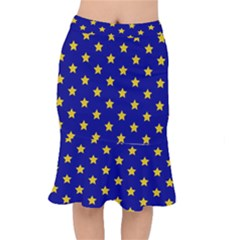 Star Pattern Mermaid Skirt