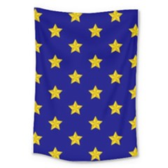 Star Pattern Large Tapestry