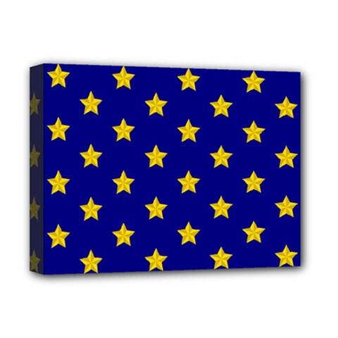 Star Pattern Deluxe Canvas 16  x 12