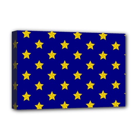 Star Pattern Deluxe Canvas 18  X 12