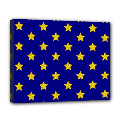 Star Pattern Deluxe Canvas 20  X 16