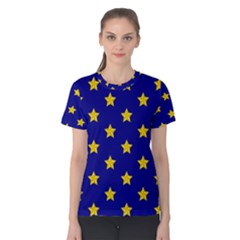 Star Pattern Women s Cotton Tee