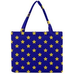 Star Pattern Mini Tote Bag