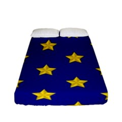 Star Pattern Fitted Sheet (full/ Double Size)