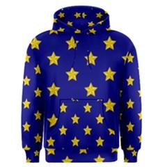 Star Pattern Men s Pullover Hoodie