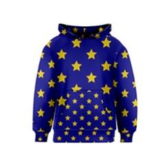 Star Pattern Kids  Pullover Hoodie