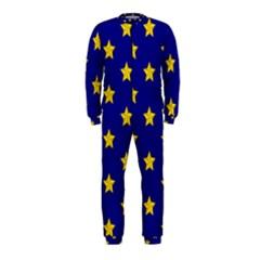 Star Pattern Onepiece Jumpsuit (kids)