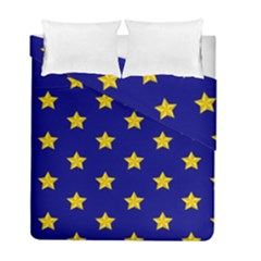 Star Pattern Duvet Cover Double Side (full/ Double Size)