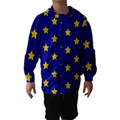 Star Pattern Hooded Wind Breaker (kids)