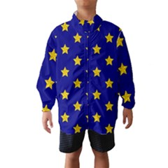 Star Pattern Wind Breaker (kids)