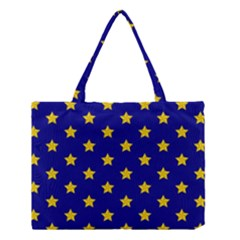Star Pattern Medium Tote Bag
