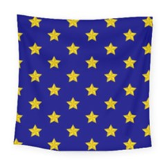 Star Pattern Square Tapestry (large)