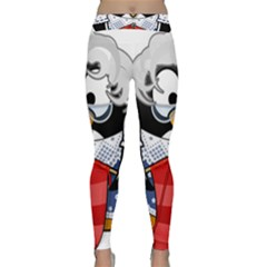 Grandma Penguin Classic Yoga Leggings