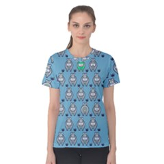 Funny Cow Pattern Women s Cotton Tee
