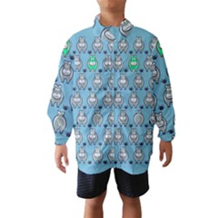 Funny Cow Pattern Wind Breaker (kids)