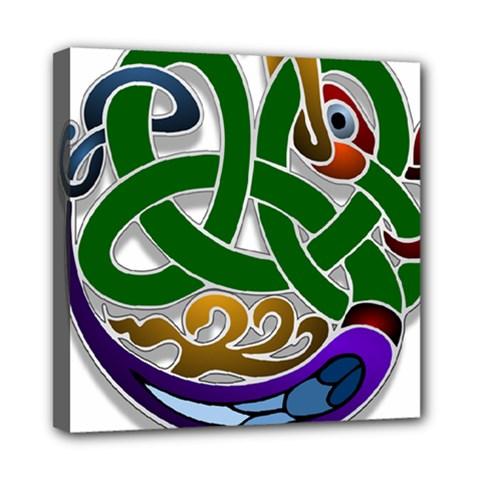Celtic Ornament Mini Canvas 8  x 8