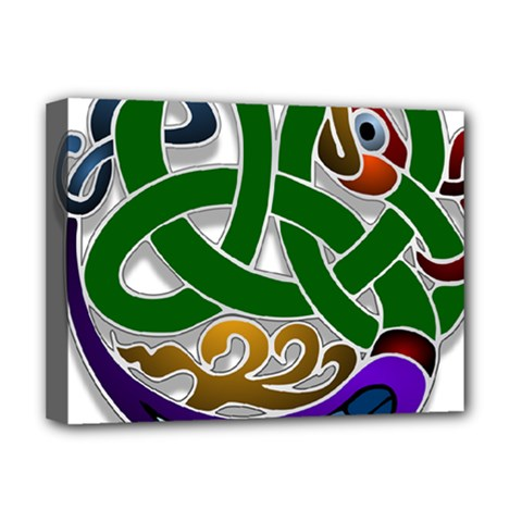 Celtic Ornament Deluxe Canvas 16  X 12