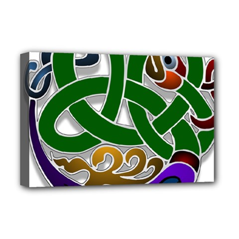 Celtic Ornament Deluxe Canvas 18  x 12