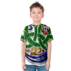 Celtic Ornament Kids  Cotton Tee