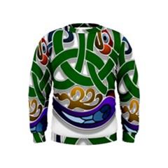 Celtic Ornament Kids  Sweatshirt