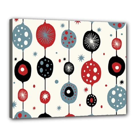 Retro Ornament Pattern Canvas 20  X 16