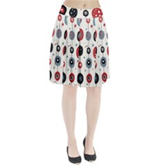 Retro Ornament Pattern Pleated Skirt