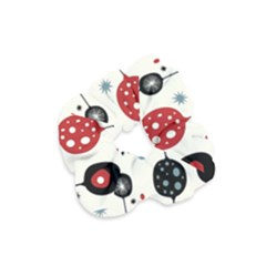 Retro Ornament Pattern Velvet Scrunchie