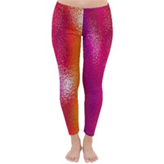 Color Glass Rainbow Green Yellow Gold Pink Purple Red Blue Classic Winter Leggings