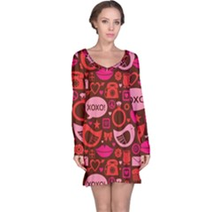 Xoxo! Long Sleeve Nightdress