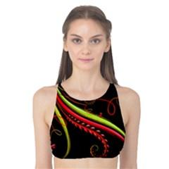 Cool Pattern Designs Tank Bikini Top
