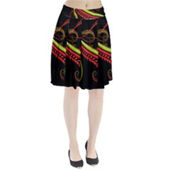 Cool Pattern Designs Pleated Skirt