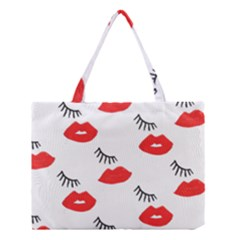 Smooch Pattern Design Medium Tote Bag