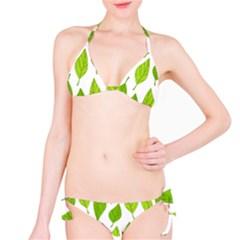Spring Pattern Bikini Set
