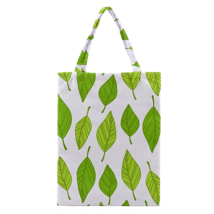 Spring Pattern Classic Tote Bag