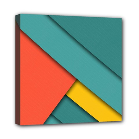 Color Schemes Material Design Wallpaper Mini Canvas 8  X 8