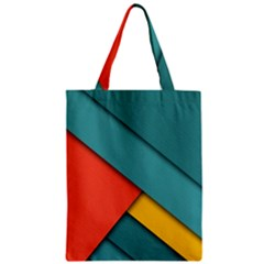 Color Schemes Material Design Wallpaper Zipper Classic Tote Bag