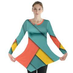 Color Schemes Material Design Wallpaper Long Sleeve Tunic