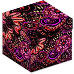 Sunset Floral Storage Stool 12