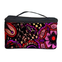 Sunset Floral Cosmetic Storage Case
