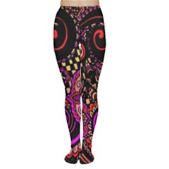 Sunset Floral Women s Tights