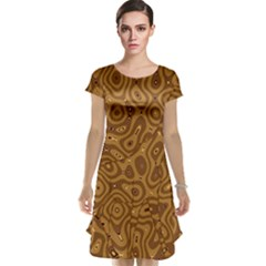 Giraffe Remixed Cap Sleeve Nightdress