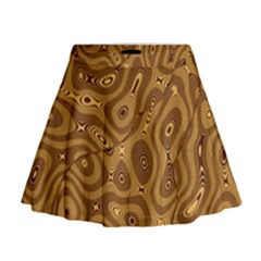 Giraffe Remixed Mini Flare Skirt